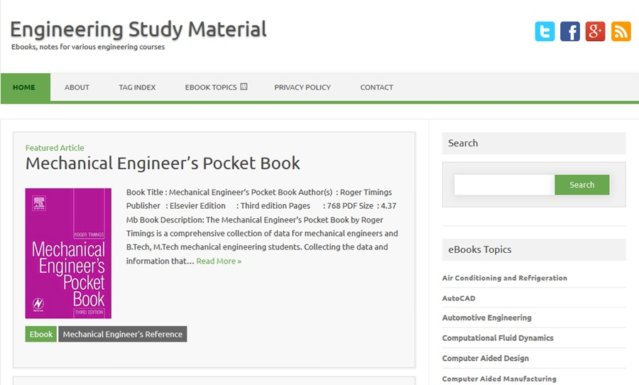 Engineering Study Material