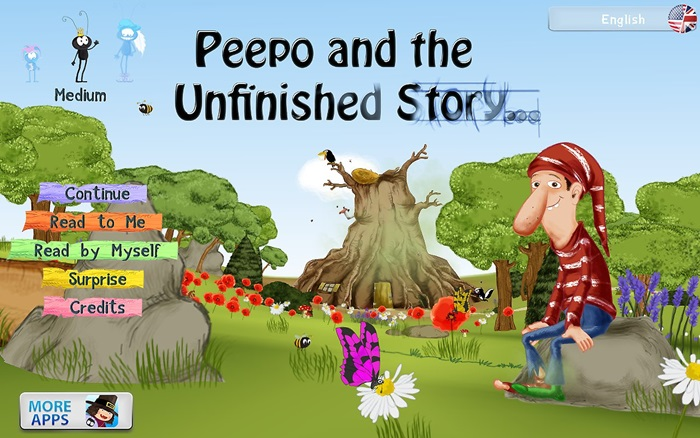 Peepo and the Unfinished Story