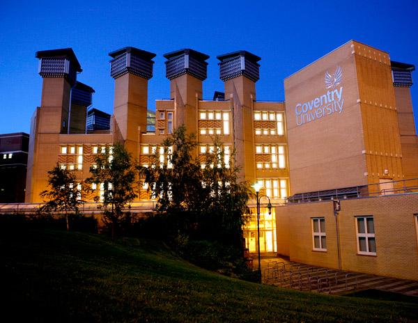 Coventry University ทุนการศึกษา มหาวิทยาลัย สหราชอาณาจักร เรียนต่อต่างประเทศ