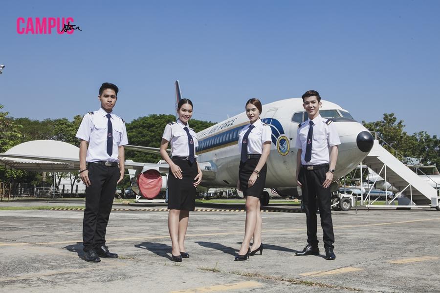 """ฝันใหม่สู่การเป็น """"นักบิน"""" ของดาวเดือน ม.ศรีปทุม"""