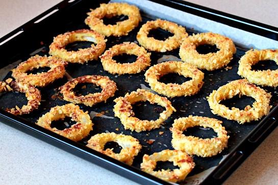 เมนูเด็กหอ Onion Rings