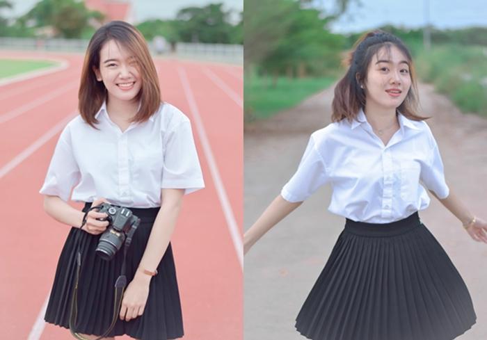 MSU ดาวมหาวิทยาลัย นักศึกษา สาวน่ารัก