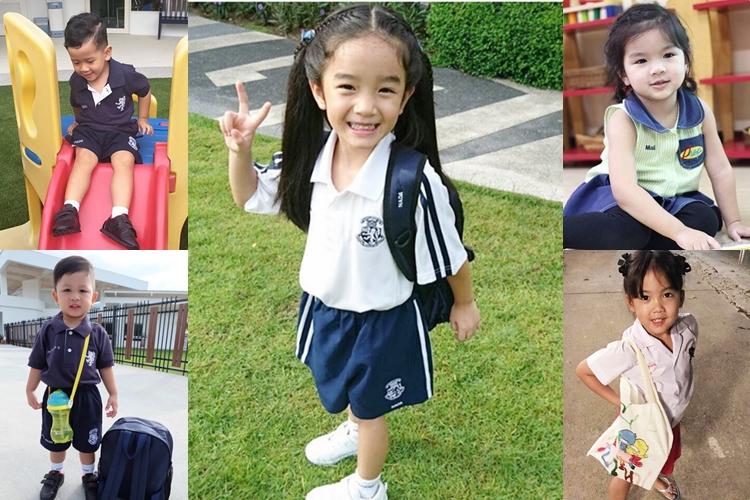 ลูกดารา ลูกดาราเรียนที่ไหน หนูน้อยน่ารัก อนุบาล โรงเรียน