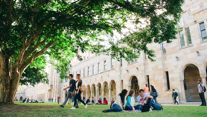 Still images of the University of Queensland commercial 2014