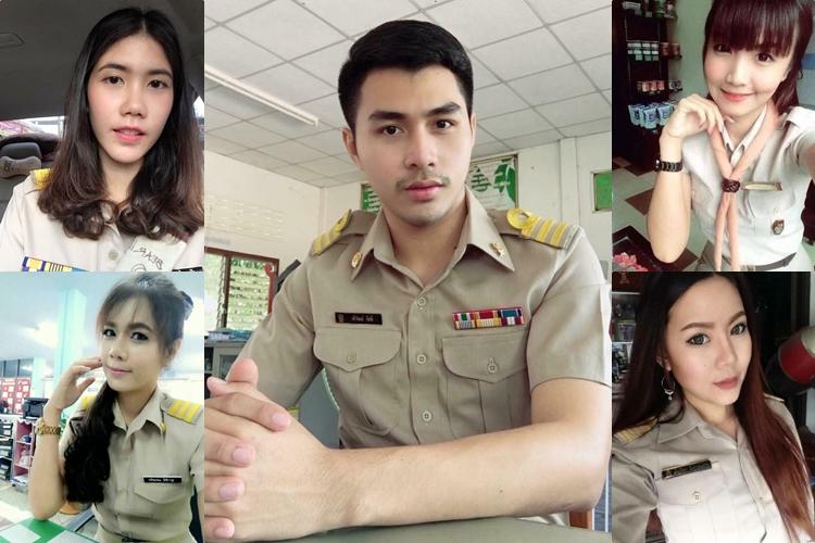 ครูสวย ครูหล่อ ครูไทยหน้าตาดี วันครู สมาคมครูหน้าตาดีแห่งประเทศไทย