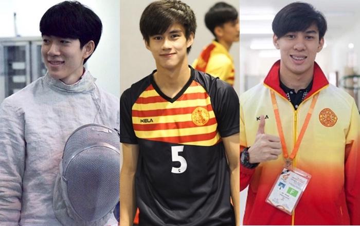 Cute Boys กีฬามหาวิทยาลัย นักกีฬา นักกีฬาหล่อ สุรนารีเกมส์