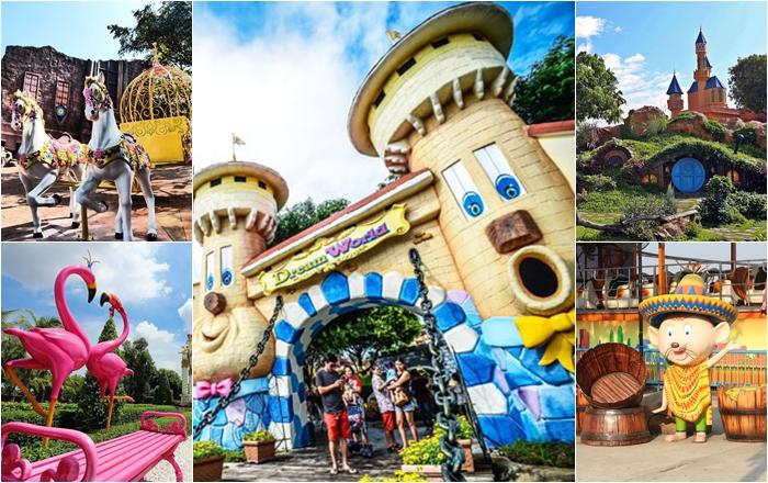 ห้ามพลาด!! 3 มุมสวย สวนสนุกดรีมเวิลด์ น่าไปถ่ายรูปรับปริญญาเป็นที่สุด