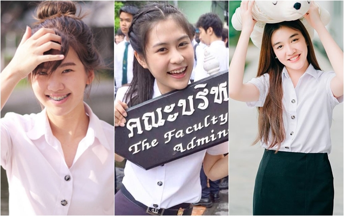cute girl KU KU Cute Girl นักศึกษา สาวน่ารัก