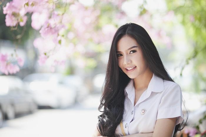 ABAC cute girl คลิปสาวน่ารัก คลิปสาวมหาลัย นักศึกษาน่ารัก พลอย-นันทพร มหาวิทยาลัยอัสสัมชัญ