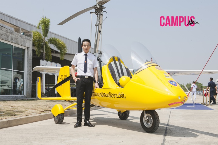 issue47 นักบิน พอร์ช-ชวัลวิทย์ วิทยาลัยอุตสาหกรรมการบินนานาชาติ วิศวกรรมการบิน