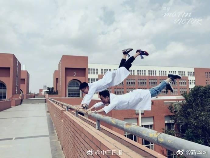 KMU Kunming Medical University จีน นักศึกษาแพทย์ ไอเดียถ่ายรูป