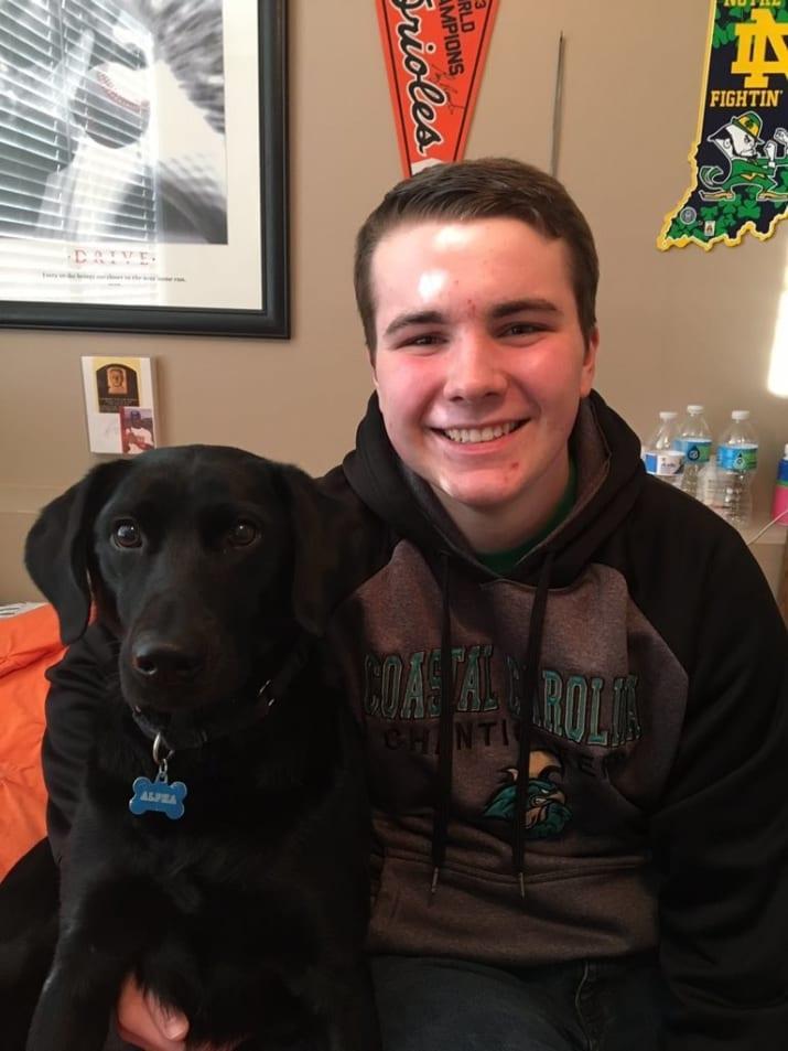 Andrew 'AJ' Schalk นักเรียนชายวัย 16 ปี