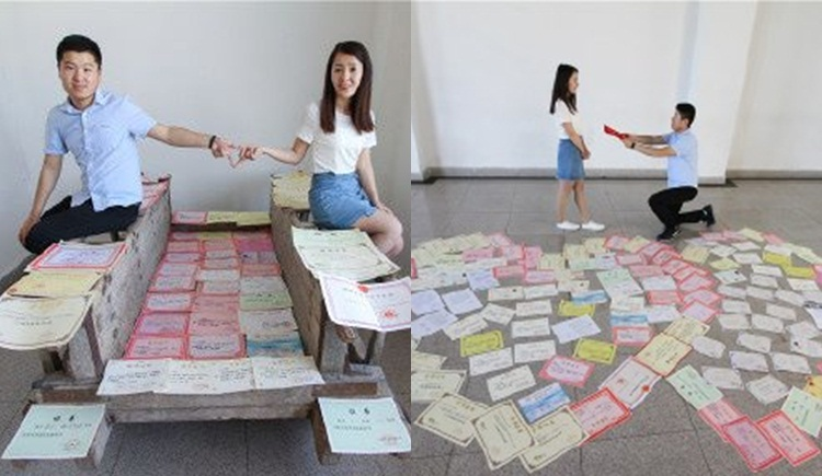 คู่รักนักศึกษา จีน นักศึกษา มหาลัยต่างประเทศ เด็กเก่ง