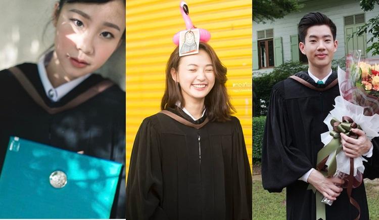 ดารารับปริญญา ดาราวัยรุ่น ดาราในชุดนักศึกษา นิเทศศาสตร์ ศิลปากร