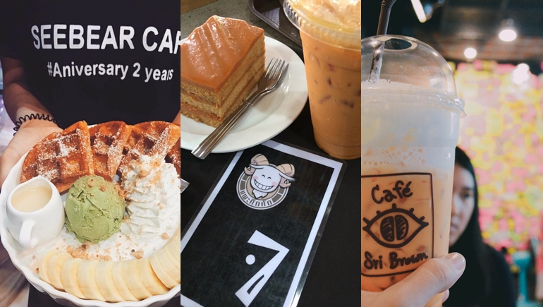 coffee shop มข ร้านกาแฟ เค้ก เมนูของหวาน