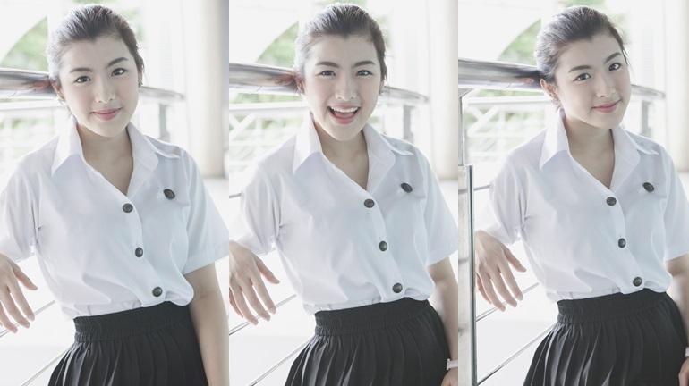 Campus Cute คลิปสาวน่ารัก คลิปสาวมหาลัย นักศึกษาน่ารัก มหาวิทยาลัยกรุงเทพ เบล-สวรรยา เลียงประสิทธิ์