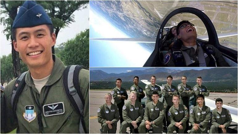 US Air Force Academy นักบิน นักเรียนนายเรืออากาศ นักเรียนเตรียมทหาร บินผาดแผลง