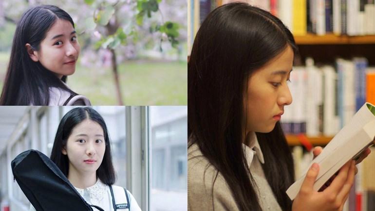 cute girl คนเก่ง ประเทศจีน วิทยาลัยศิลปะ หลี่ชิวถง