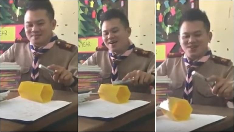ครูร้องเพลง คุณครู วิชาคณิตศาสตร์