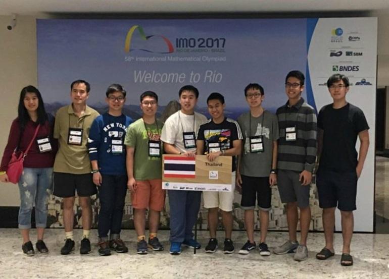 การแข่งขันคณิตศาสตร์โอลิมปิก ประเทศบราซิล เด็กเก่ง