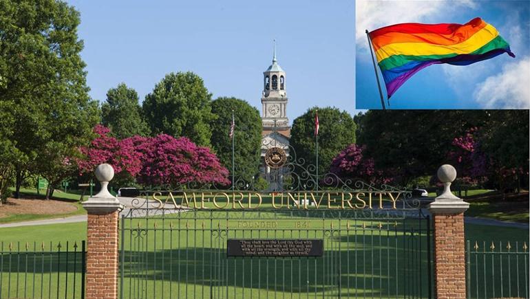 LGBT Samford University เงินสนับสนุน