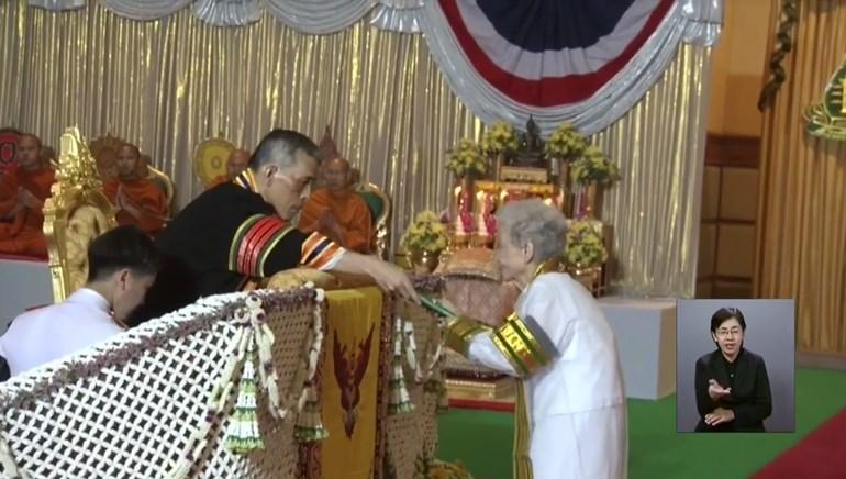 คุณยายกิมหลั่น บัณฑิตวัย 91 ปี