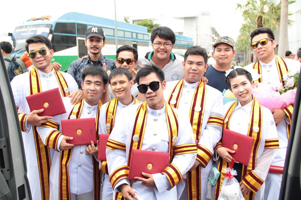 พิธีพระราชทานปริญญาบัตรสถาบันการอาชีวศึกษารุ่นแรก