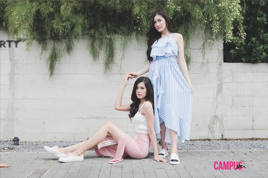 ยิว-เนย์ สองสาวต่างสไตล์ บนปก Campus Star No.51
