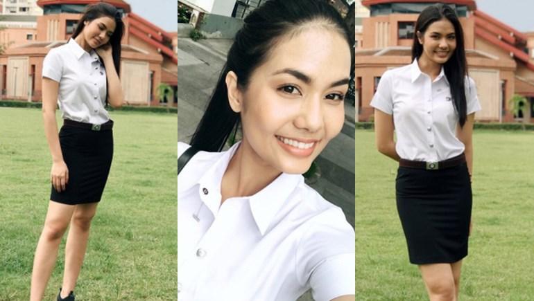 Miss Universe Thailand MUT 2016 คณะวิทยาศาสตร์ ดาราในชุดนักศึกษา น้ำตาล ชลิตา นิสิตใหม่ มิสยูนิเวิร์สไทยแลนด์