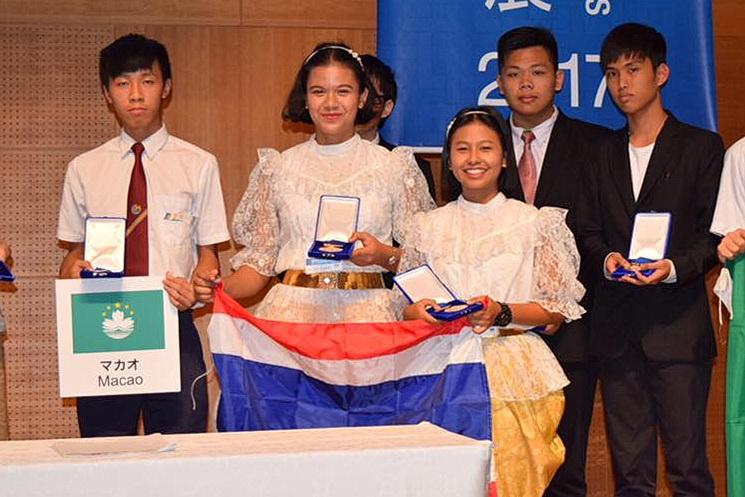 IEYI 2017 การประกวดสิ่งประดิษฐ์นานาชาติ นักเรียน ประเทศญี่ปุ่น เด็กเก่ง
