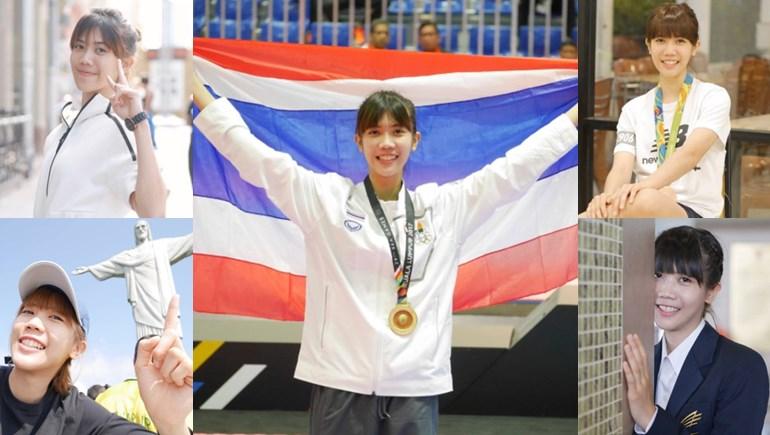 cute girl SEA Games ซีเกมส์ 2017 นักกีฬาทีมชาติไทย นักกีฬาสวยบอกต่อด้วย นักกีฬาเทควันโด เทนนิส พาณิภัค