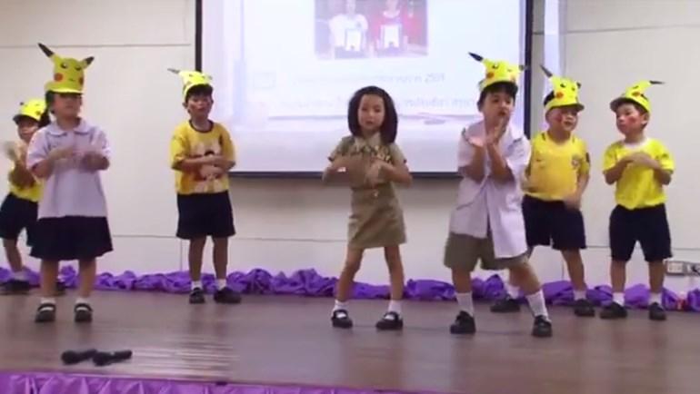 นักเรียนอนุบาล นักเรียนแสดงละคร เด็กเก่ง