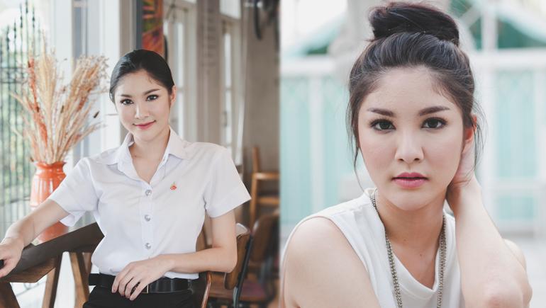 Campus Cute cute girl คลิปสาวน่ารัก คลิปสาวมหาลัย มรภ.สวนสุนันทา
