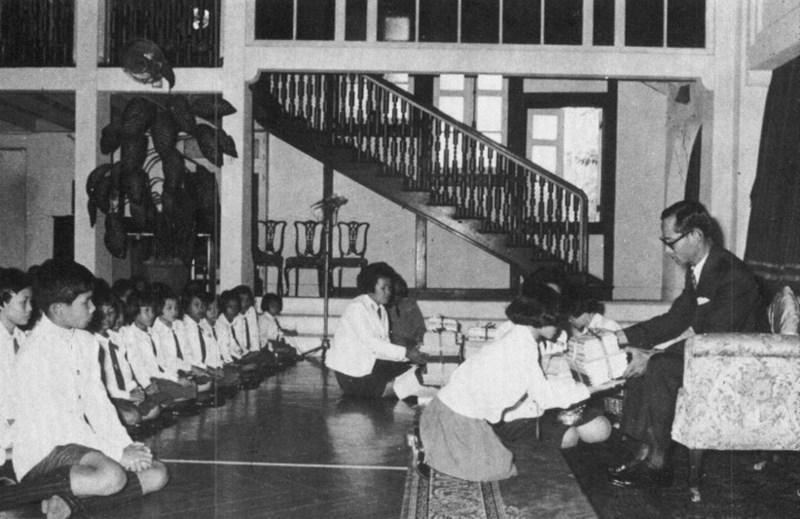 ทุนการศึกษา ทุนพระราชทาน โรงเรียนในพระบรมราชูปถัมภ์ ในหลวงรัชกาลที่ 9