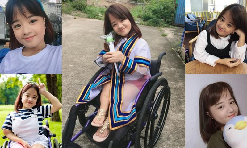 Miss wheel chair thailand คณะบริหารธุรกิจ จ๊ะจ๋า จิณจุฑา บัณฑิตจบใหม่ เด็กเก่ง