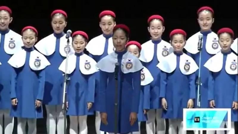 The Little Angels of Korea คณะนักร้องประสานเสียง พระราชาผู้ทรงธรรม เกาหลีใต้ เยาวชนเกาหลีใต้ ในหลวงรัชกาลที่ 9