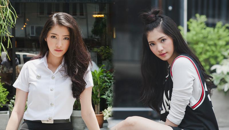 cute girl คลิปสาวน่ารัก คลิปสาวมหาลัย นักศึกษาน่ารัก พลอย-มีนา ม.ศรีปทุม