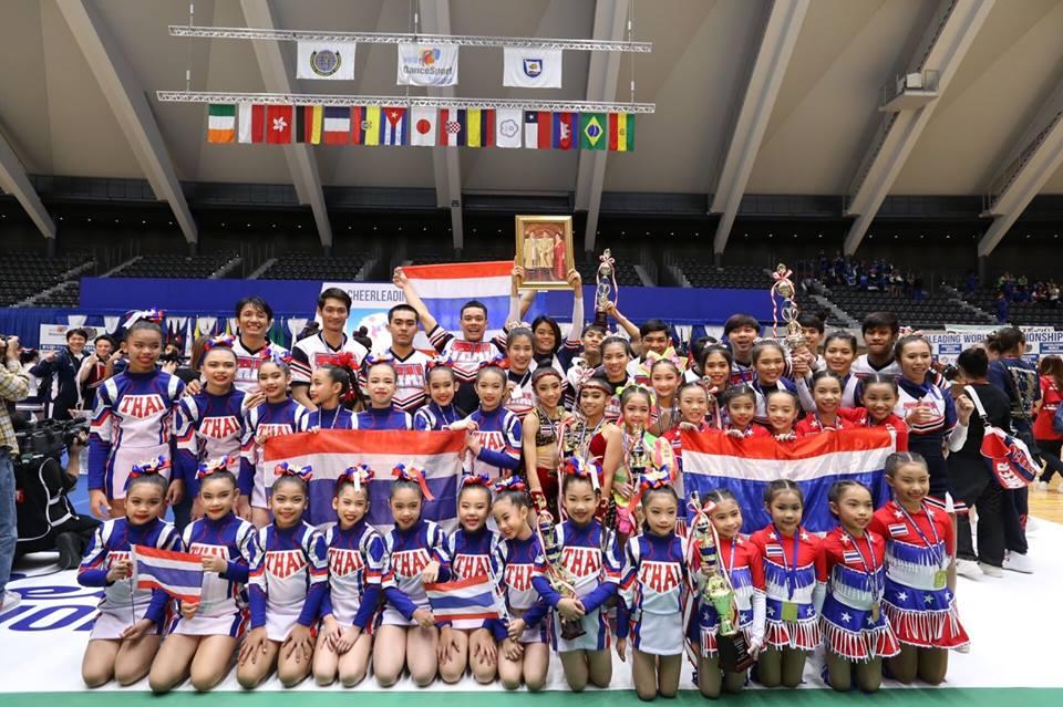 การแข่งขันเชียร์ลีดดิ้งชิงแชมป์โลก เชียร์ลีดดิ้ง เชียร์ลีดดิ้งไทย เด็กเก่ง