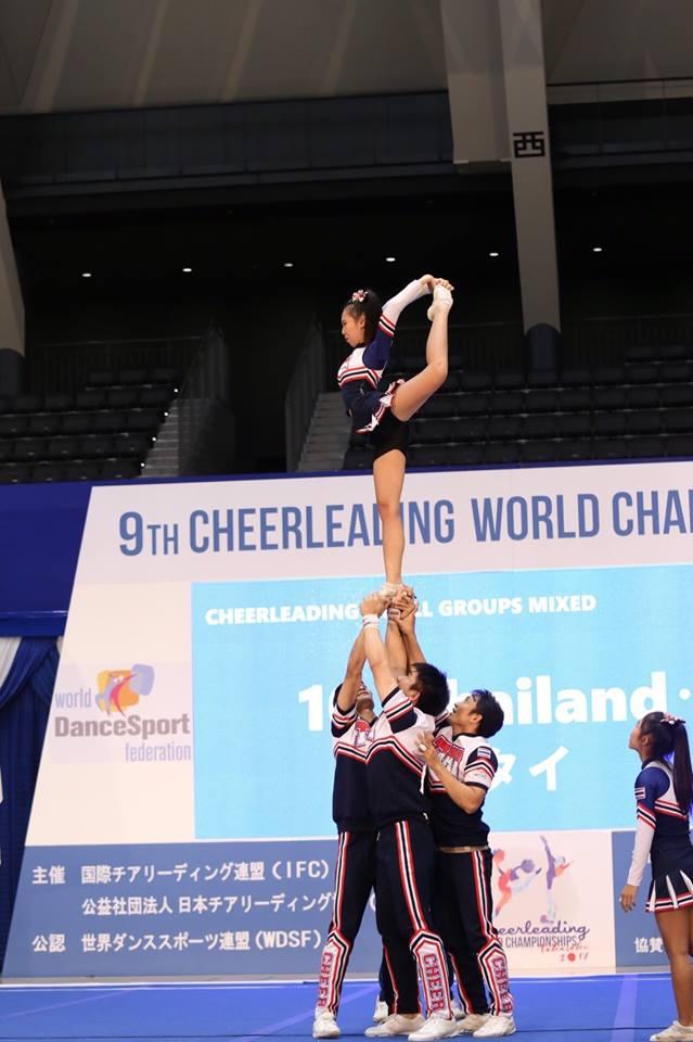 เชียร์ลีดดิ้งไทย คว้า 3 แชมป์โลก