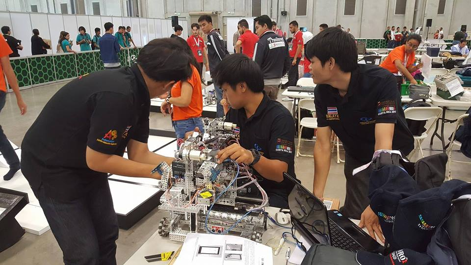 วไลยอลงกรณ์ คว้าแชมป์โลก costa rica world olympiad robotic