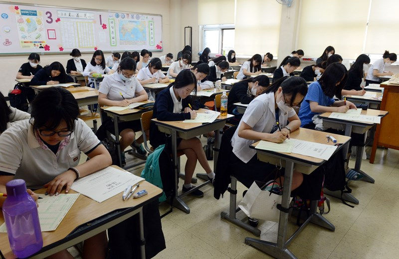 CSAT การสอบ วันสอบเข้ามหาวิทยาลัยของเด็กเกาหลี เกาหลี เรียนต่อต่างประเทศ