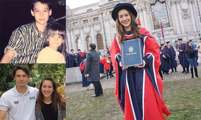 ประเทศอังกฤษ พี่น้องดารา เจน เจนิเฟอร์ เรียนจบนอก แมทธิว ดีน