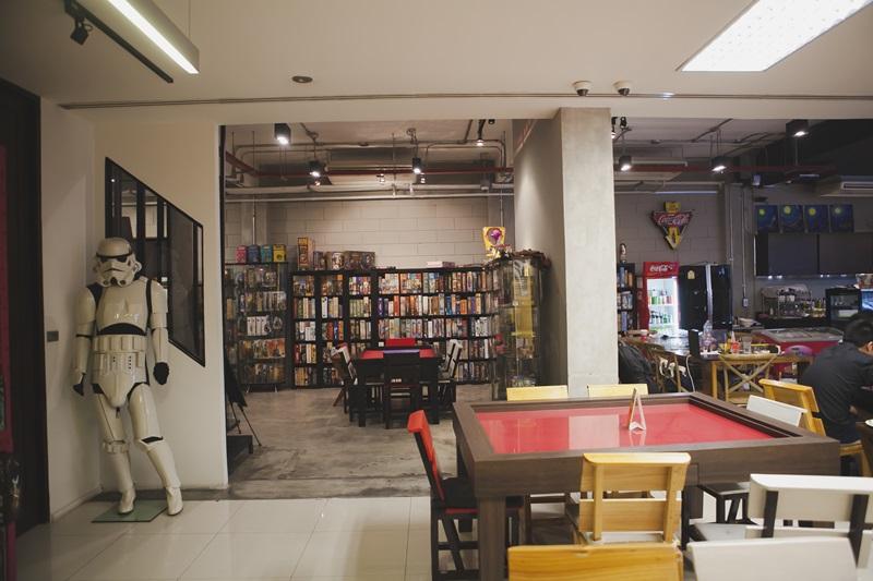 Kopi-o Board Game Cafe