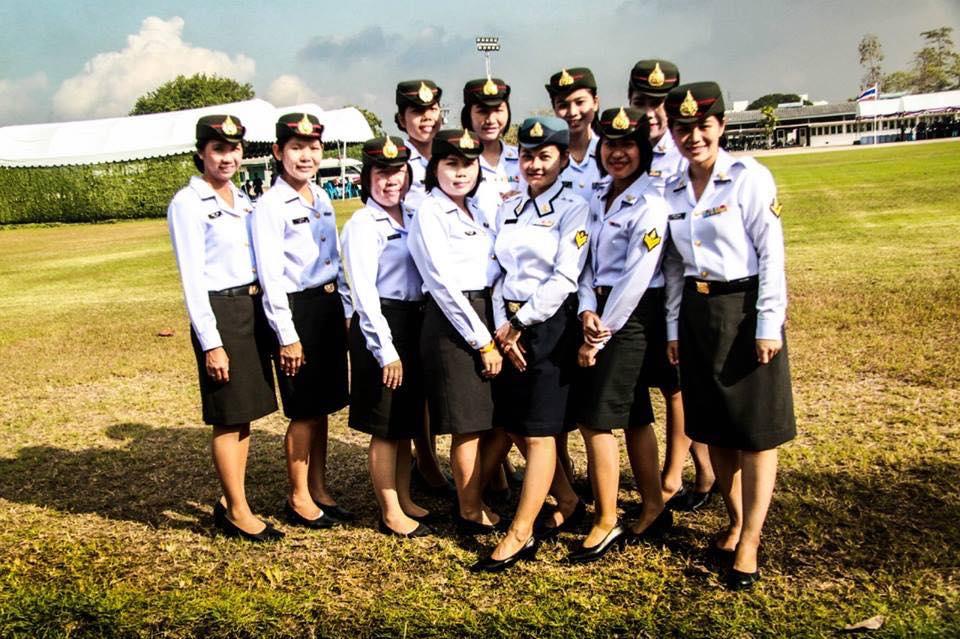 ทหารหญิง ทุกเหล่าทัพ ในการเข้าศึกษาต่อปี 2561