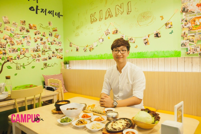 issue57 KIANI ร้านอาหารเกาหลี ลี จงจิน เชฟเกาหลี โอป้าเกาหลี