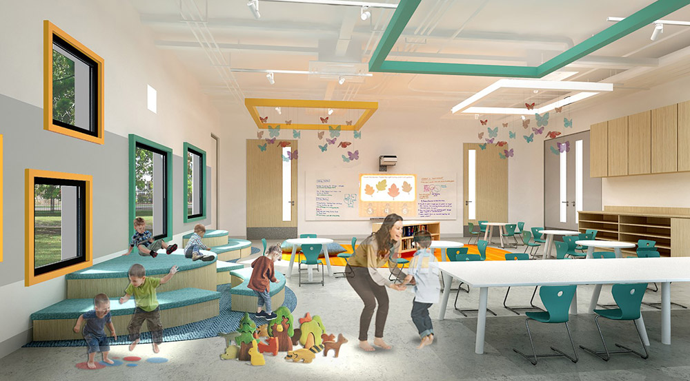 Kindergarten : Classroom
