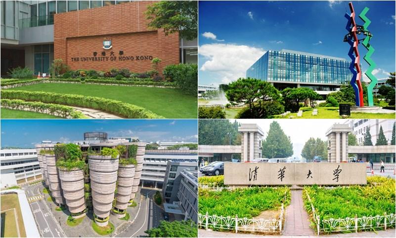 QS การจัดอันดับ ทวีปเอเชีย มหาวิทยาลัย มหาวิทยาลัยที่ดีที่สุดของโลก