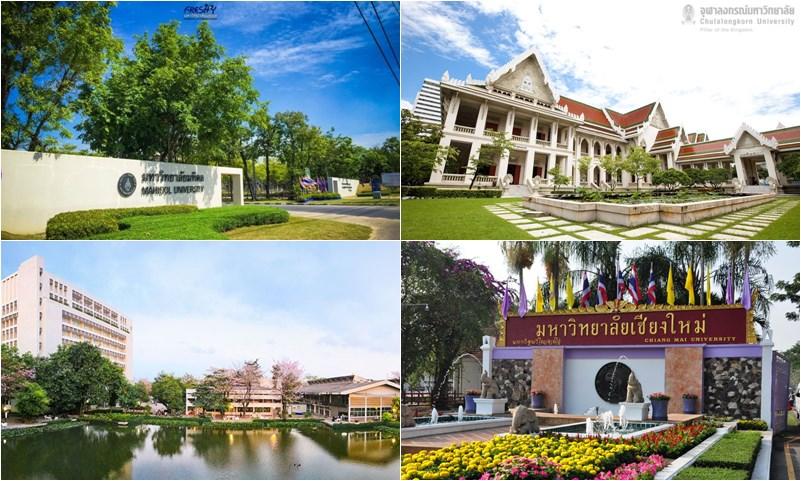 QS การจัดอันดับ มหาวิทยาลัยที่ดีที่สุดของโลก มหาวิทยาลัยไทย
