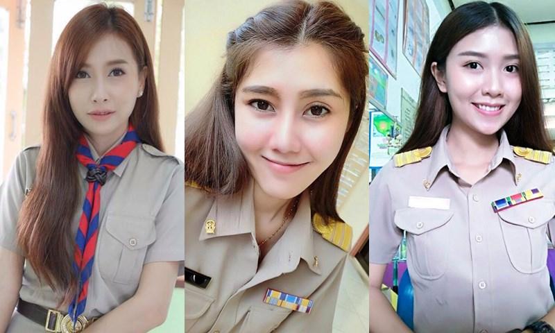 ครูสวย ครูสวยบอกต่อ ครูไทยหน้าตาดี วันครู วันครูแห่งชาติ สมาคมครูหน้าตาดีแห่งประเทศไทย