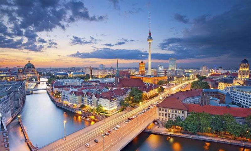 6. เมืองเบอร์ลิน (Berlin)